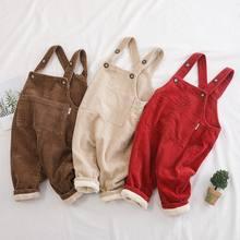 Флисовый детский комбинезон зимний модный для мальчиков и девочек