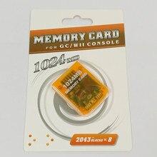 1024 M hafıza kartı Wii Konsolu Için Hafıza Kartı Koruyucu GameCube GC Wii Için