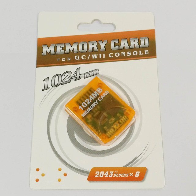 1024 M memory card For Wii Console Memory Storage Card Saver For GameCube GC For Wii