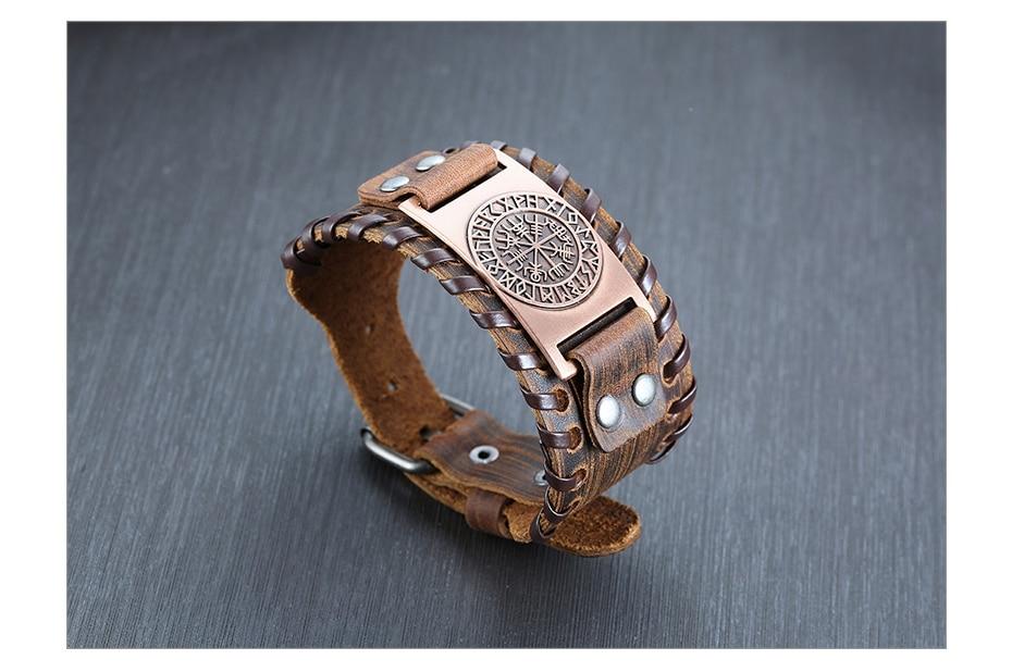 H11ac8c1cf58d42b3929fff6f9d1f860eR - Viking Leather  Bracelets