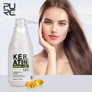 Image 5 - 12% formol 300ml kératine traitement des cheveux offre spéciale produits de soins capillaires réparer les cheveux endommagés et rendre les cheveux lissants et brillants 11.11