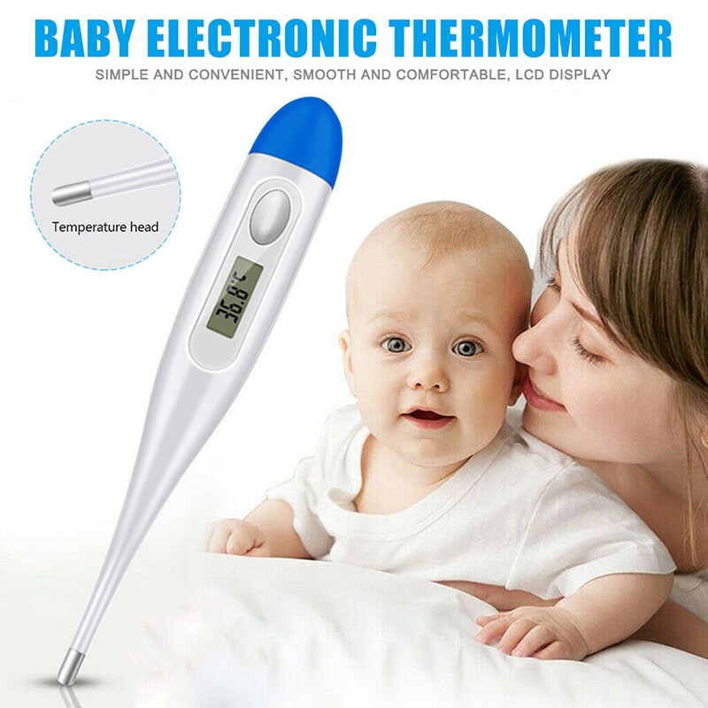 Electronic LCD Thermometer For Baby Infant Digital Underarm Home Fevers Temperature Meter JHP-Best