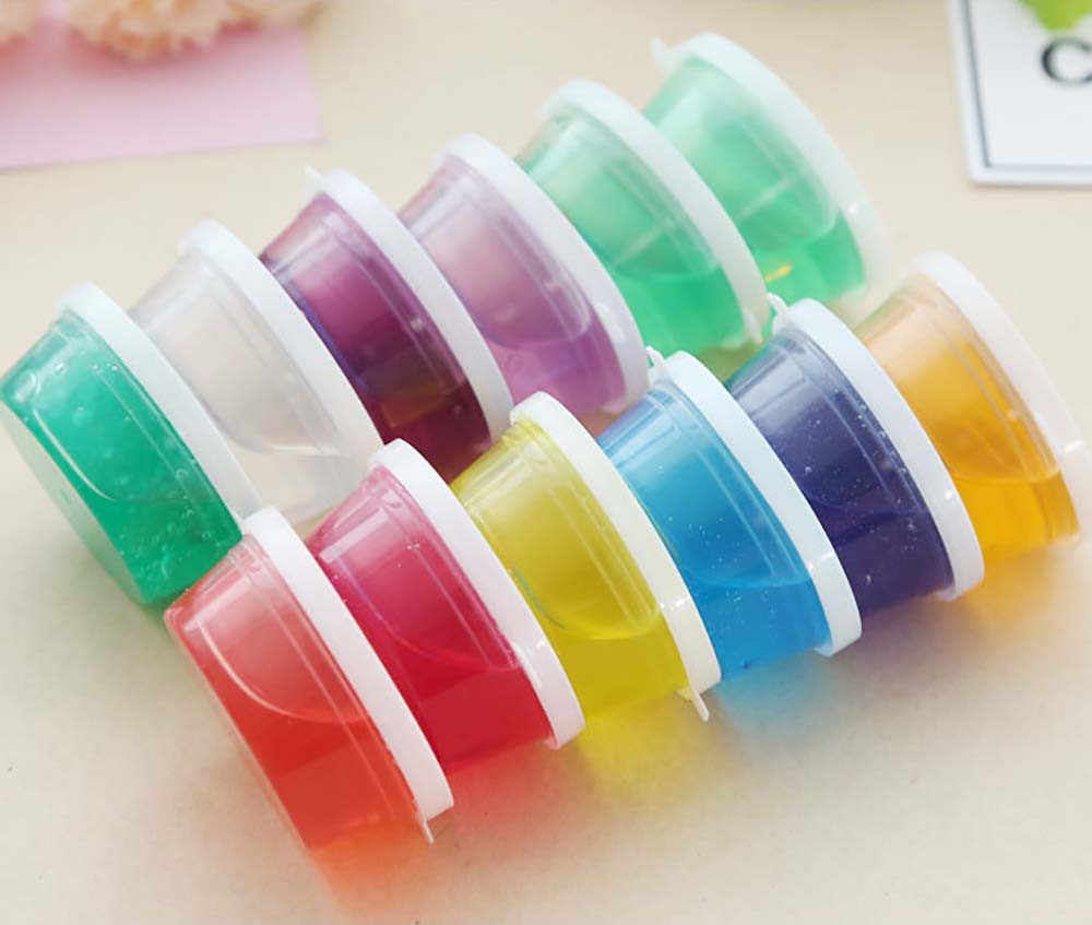 Clay Slime DIY Non-toxic Crystal Mud Play Transparent Magic Plasticine Toys Kid Children Child Creativity Imagination Education
