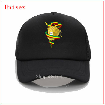 Reggae Lion Zion Rasta Lion Baseball Cap cool custom Embroidery Snapback Hat Men and women cap Hat newest popular caps image