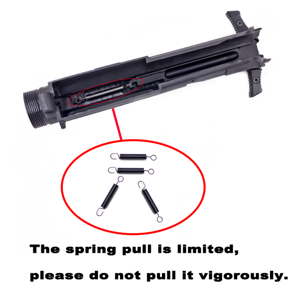 Priming Handle Spring Carbon Steel Material For Airsoft AEG Gel Blaster Ver.2/3 AK M4 BD556 Hunting Paintball Accessories