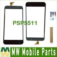 Für Prestigio Gnade M5 LTE PSP 5511 PSP5511 Touchscreen Digitizer Schwarz Farbe mit Band tools-in Handy-Touch-Panel aus Handys & Telekommunikation bei