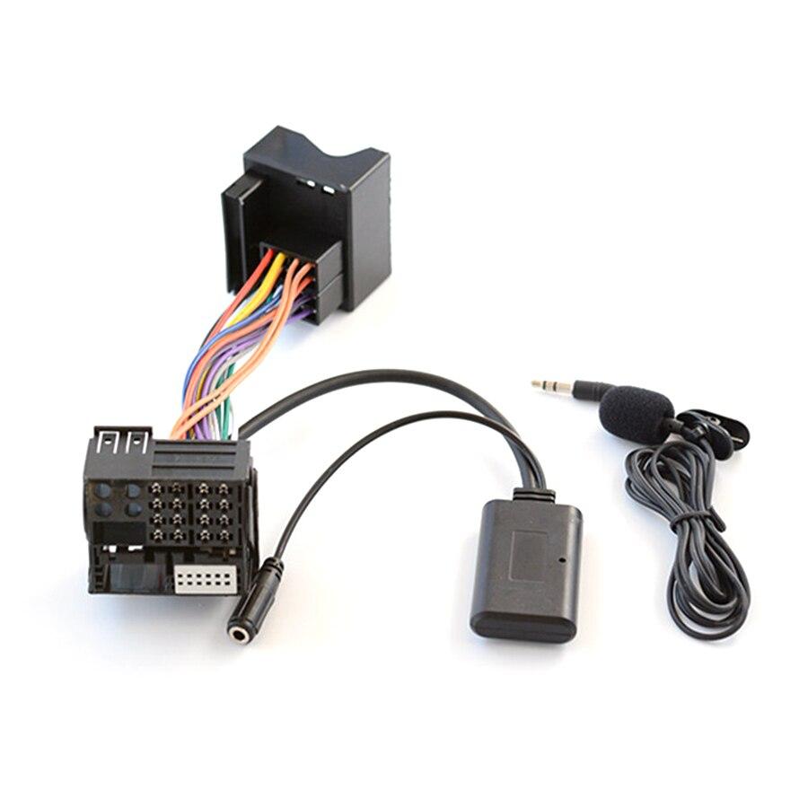 Автомобильный Радио Bluetooth Музыка AUX кабель Handsfree адаптер жгут Комплект для BMW E60 E66 E70 E82 E87 E90 E92