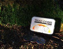 Triad moedas por joshua jay truques de magia