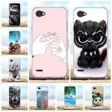 For LG Q6 M700N M700A M700DSK M700AN Case Soft TPU Silicone For LG Q6 Plus Cover Cute Dog Patterned For LG Q6 Alpha Q6a Shell цена