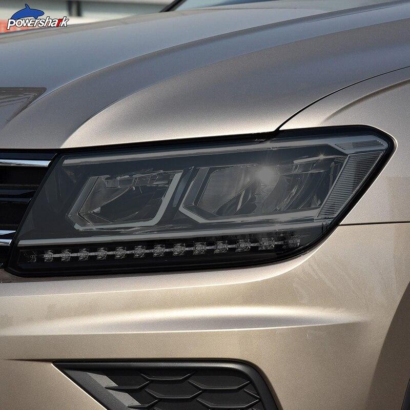 Автомобильные фары оттенок Черная защитная пленка задний фонарь прозрачный ТПУ стикер для Volkswagen VW Tiguan 5N MK2 2017 на аксессуары|Наклейки на автомобиль|   | АлиЭкспресс