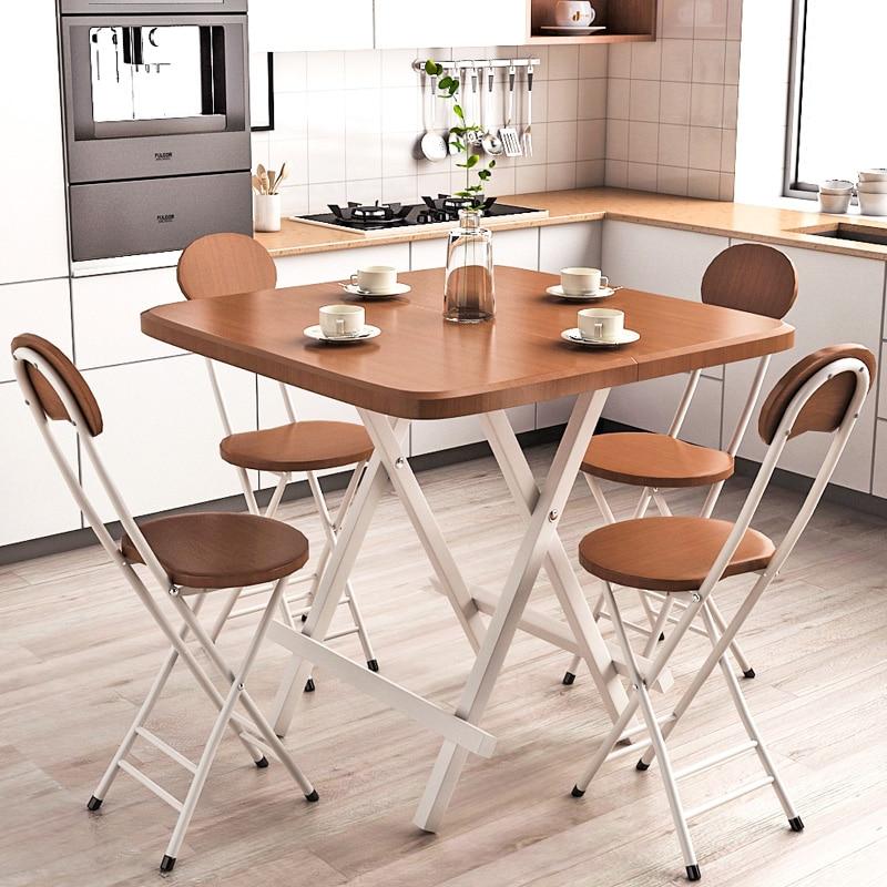 Nouveau multicolore Simple chaise pliante maison tabouret dos étudiant dortoir ordinateur chaise pliante tabouret salle à manger moderne