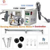 Servomoteur + contrôleur de Machine à coudre suspendu inférieur 110/220 V monté sur branche pour une variété de Machines à coudre industrielles
