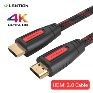Image 1 - Przedłużacz HDMI do HDMI High Speed 2.0 pozłacane połączenie długi kabel przewód 1.5M 2M 3M 5M dla UHD FHD 3D Xbox PS3 PS4