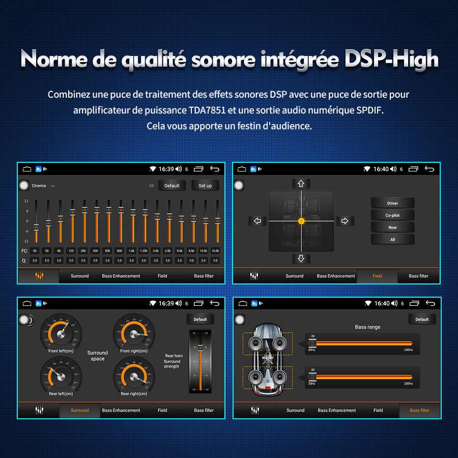 2 din Android rádio do carro para passat b6 autoradio multimedia player do carro para VW Golf 5/6 Polo/Tiguan/ skoda Octavia GPS unidade de cabeça