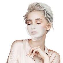 Прозрачная маска для языков губ против капель многоразовая моющаяся