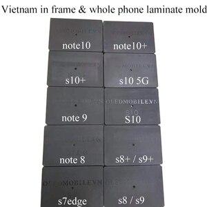 Image 1 - JALAN قالب تصفيح الإطار ، لهاتف Samsung S10Plus S10 5G S9 Plus S8 Plus S7 Note 8/9/10/10 Plus ، زجاج LCD بدون موجة