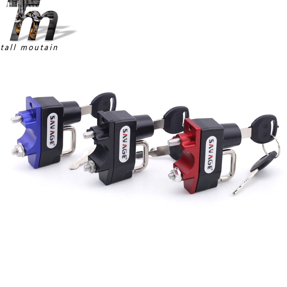 Helmet Lock Handlebar For HONDA CB 150R/300R/300F/400/400F/400X/500F/500X/600F/600S/650F/900F/1000R/1100/1300 HORNET/SUPER FOUR