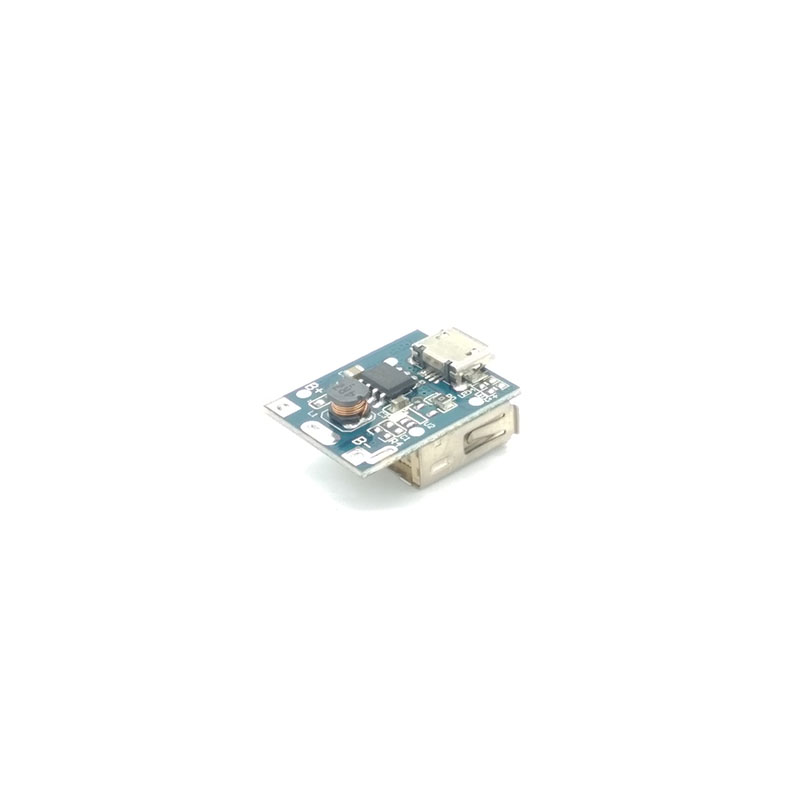 Купить с кэшбэком 5V 1A 3.7V Power Bank Charger Circuit Board Lithium Battery Charger Board Plate Boost Charging Module DIY For Power Bank