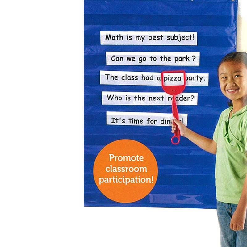 Learning Resources Standard Pocket Chart Education For Home Scheduling Classroom New Arrival