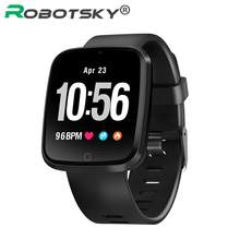 V6 Smart Bracelet Outdoor Mode Fitness Tracker Reminder Heart Rate Blood Pressure waterproof Smartwatch Wearable Device(China)