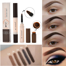все цены на NEW Eyebrow Pencil Pomade Gel Enhancer Eye Brow Tint Tattoo Dye Paint Cream Wax Makeup Waterproof Long Lasting Eyebrow Brush Pen