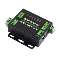 Networking RS232 485 TO ETH RJ45 Accessories Dual Serial Ports Name Resolution DNS Webpage Industrial Module Converter Computer