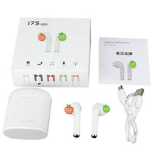sport i7 i7s TWS Mini Wireless Bluetooth Earphone headphone In-Ear Stereo Earbud Headset with Charging Box Mic For iphone xiaomi(China)