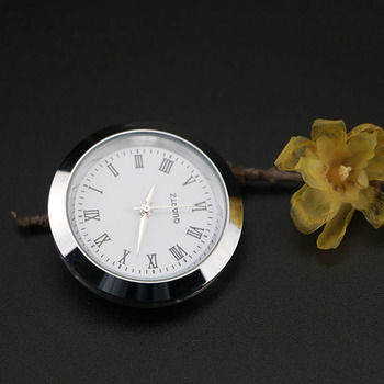 Car Air Vents Quartz Clock Car-Styling Decoration Ornaments Watch Pointer Stick On Dashboard for BMW Mercedes-Benz Cadillac image
