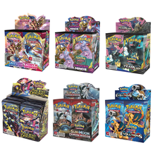 324Pcs/Box Pokemon Cards Newest GX EX Sword&Shield Sun&Moon English Trading Card Shining Game Versions 36 Pack Collection Toys