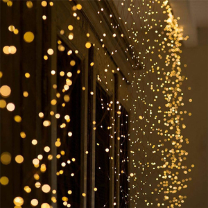 New Year 2020 LED String Lights Holiday Garland Fairy Light Outdoor Decorative Lighting Christmas Gifts Wedding Party Decoration(China)