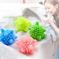 3/4/5 Pcs Magic Laundry Ball for Household Cleaning Washing Machine Clothes Softener Super Starfish Shape Solid Cleaning Balls