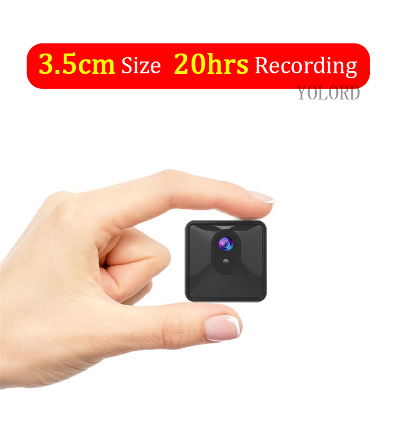 20Hrs Long Recording Time 2800Mah Large Battery High Quality Compact Micro Mini Magnet 1080P Night Vision Wifi Car Camcorder