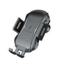AMS-Qi Auto Drahtlose Ladegerät Telefon Halter Für Ulefone Rüstung X 6 Power 5 5S Leagoo Power S10 5 schnelle Drahtlose Lade Telefon Stehen