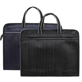 Nowa podwójna warstwa męska skórzana walizka biznesowa dorywczo torba męska na ramię torba męska laptopy torebki męskie torby podróżne tanie i dobre opinie Poduszki Skrzynki Płótno zipper Moda Brak Unisex Stałe Pojedyncze NONE