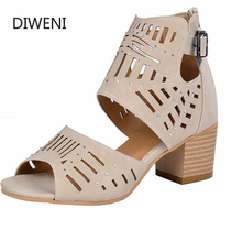 2020 Summer High Heel Sandals Women Gladiator Buckle Strap Fashion Shoes Ladies Wedge Sandals Plus Size Sandalias Mujer summer women sandals gladiator sandals women strange metal high heel 9 cm womens shoes 2018 zapatos mujer plus size hl94muyisexi