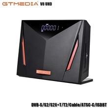 GTMEDIA V8 UHD Receptor Support DVB-S/S2/S2X+T/T2/Cable/ATSC-C/ISDBT Satellite TV