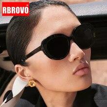 Retro Sunglasses Women Designer Feminino Vintage RBROVO for Luxury Brand Oculos-De-Sol