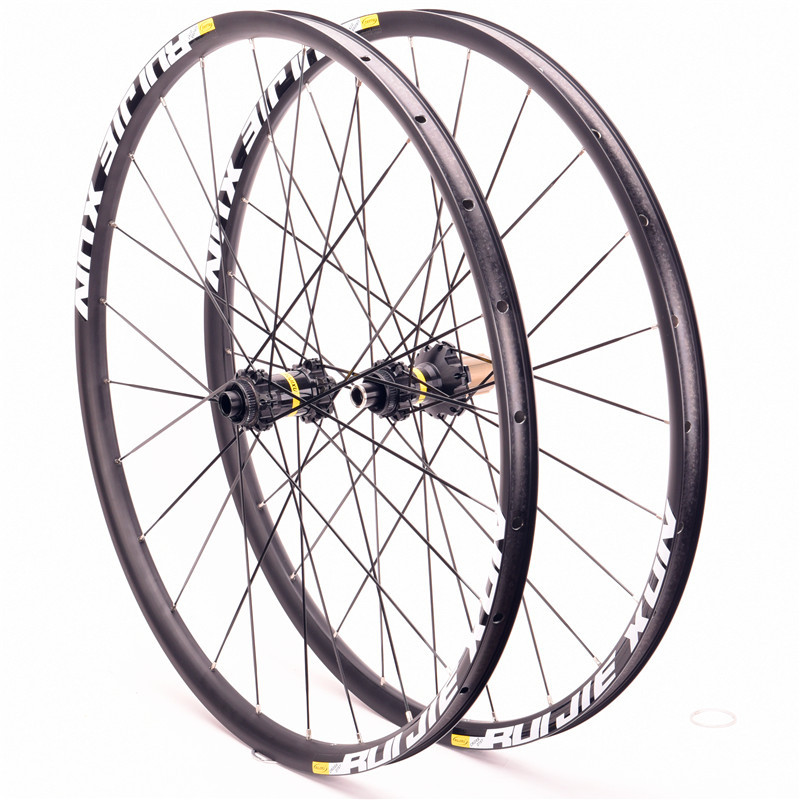 MTB Mountain Bike Bicycle Sealed Bearing crossride disc wheelset 27.5 29 26 inch 12/15/9mm Wheel Six Hole Central Lock Wheelset