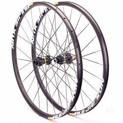 Vtt VTT vélo scellé roulement crossride disque roues 27.5 29 26 pouces 12/15/9mm roue Six trous serrure centrale roues