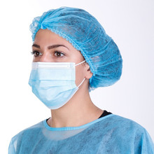 IN STOCK Profession anti virus Mask 3-Ply Anti-Dust FFP2 Nonwoven Elastic Earloop Mouth Face Masks Medical Surgical Mask