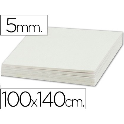 PEN CARTON LIDERPAPEL DOUBLE FACE 100X140 CM THICKNESS 5 MM 5 Units