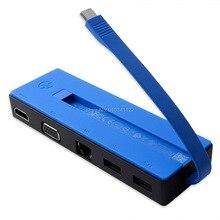 HP Travel Dock Pocket Station USB-C HDMI /VGA/RJ-45/USB 839032-001 844550-001