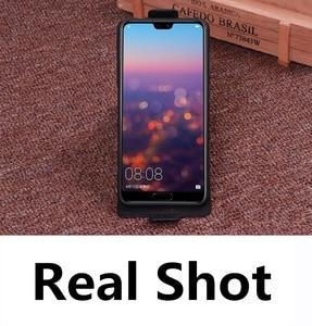 Image 2 - ビジネス本革縦型フリップ電話ケース Huawei 社の名誉 9/Huawei 社の名誉 9 Lite 垂直電話ケースとダウンカバー