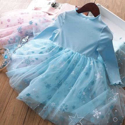 2020 Baby Girl Fashion Clothing Set Cute  Dress girls Infant Elegant Clothes Sets Children Party Birthday Wear 4
