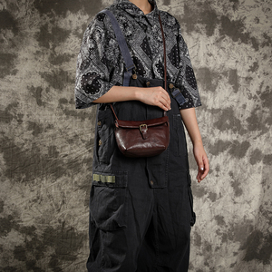 Image 5 - 엠제이 소프트 정품 가죽 여성 메신저 가방 여성 진짜 가죽 Crossbody 어깨 가방 여자를위한 작은 핸드백 복고풍 전화 가방