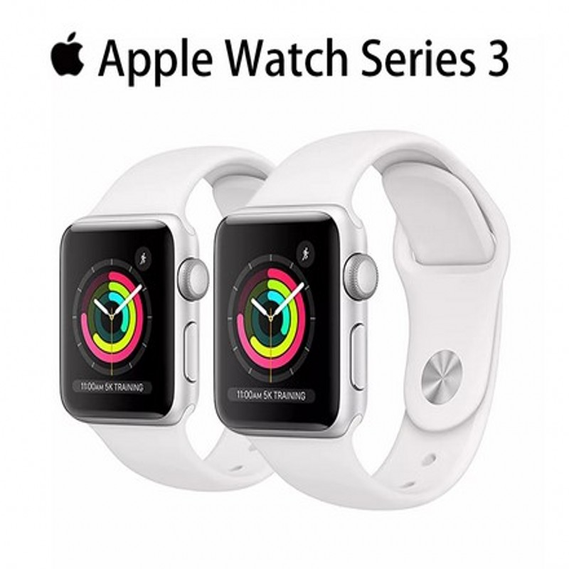 Permalink to Apple Watch Series 3 Used GPS 38MM/42MM Original 95% New White and Black Aluminum Case Sport Band Smart watch