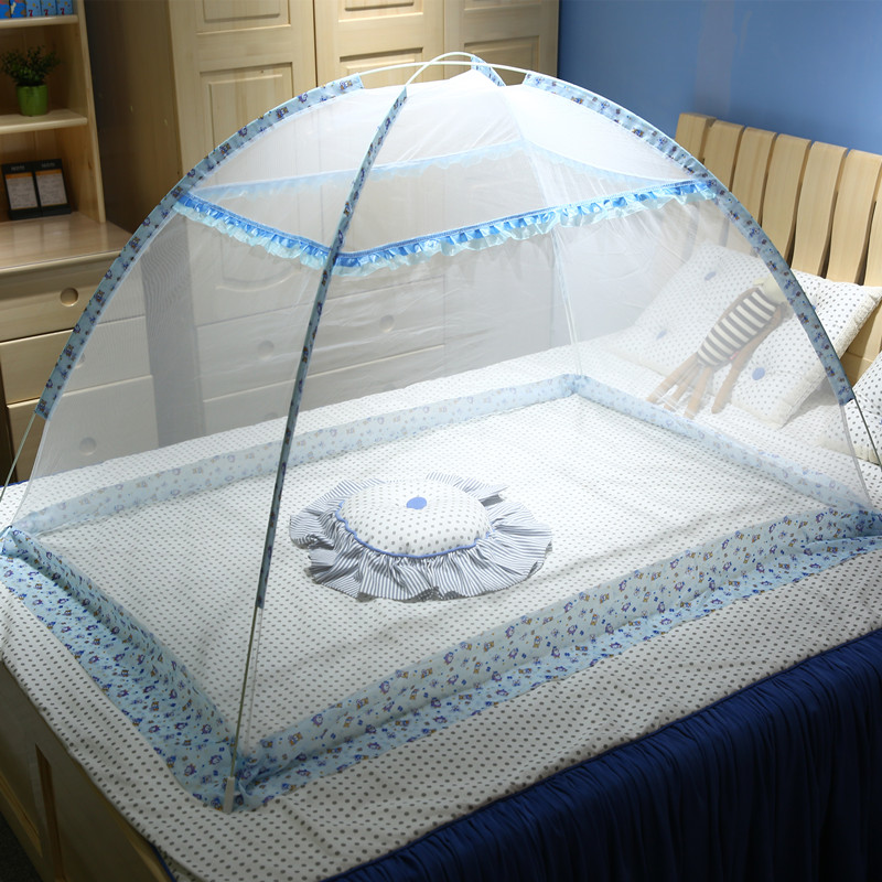Summer Portable 2 Sizes Baby Crib Netting For 0-6 Years Children Foldable Baby Mosquito Net Infant Baby Bed Tent Insect Netting