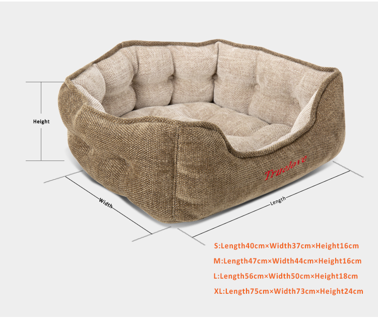 Dog Bed Plush Rugs for Dogs and Cats Furniture - Zoobig