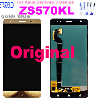 Starde Lcd for ASUS Zenfone 3 Deluxe Z016S Z016D ZS570KL LCD Display Touch Screen Digitizer Assembly Replacement