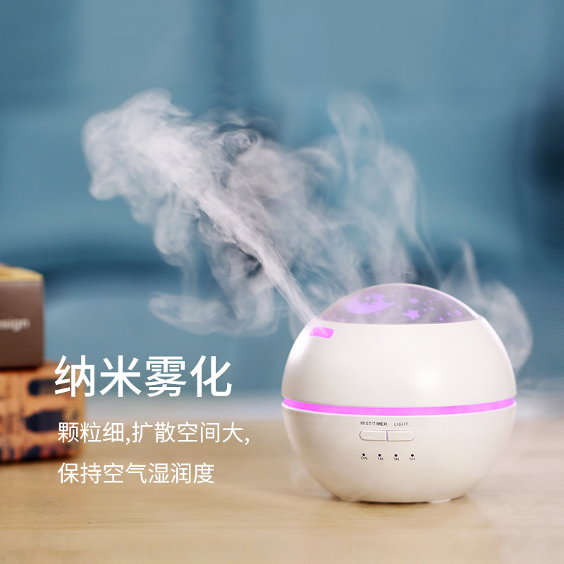 Electric Incense Burner Mute Ultrasonic Air Humidifier Aroma Portable Incense Holder Aroma Lamp Bedroom Home Decoration MM60XXL